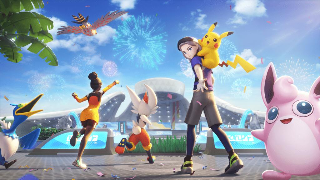 Pokémon UNITE est disponible sur Nintendo Switch - videoludos